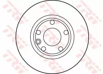 Тормозной диск на Фольксваген Комби 'TRW DF2665'.