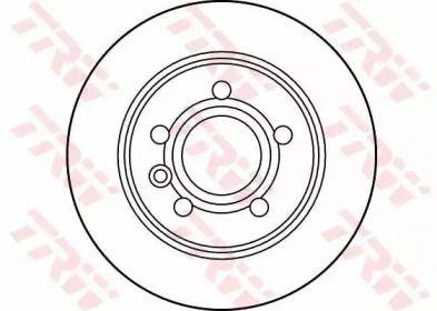 Тормозной диск на SEAT ALHAMBRA 'TRW DF2777'.