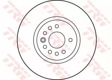 Вентилируемый тормозной диск на SAAB 900 'TRW DF2778S'.