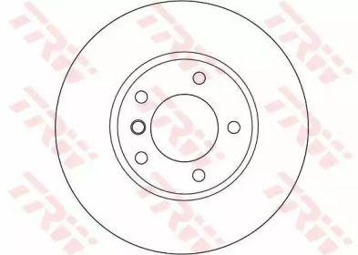 Вентилируемый тормозной диск на BMW Z4 'TRW DF4055'.