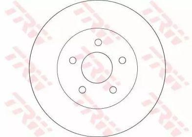 Тормозной диск на JAGUAR X-TYPE 'TRW DF4218'.
