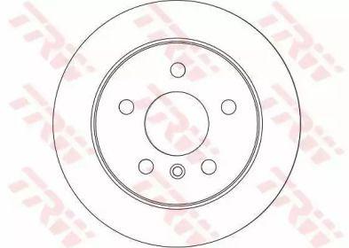 Тормозной диск 'TRW DF4453'.