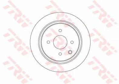 Тормозной диск на Ниссан Куб 'TRW DF6317'.