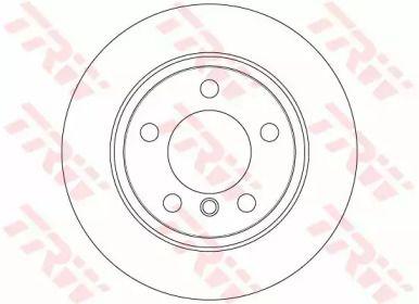 Тормозной диск на MINI COUNTRYMAN 'TRW DF6353'.
