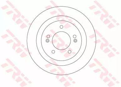 Тормозной диск на Хендай Ай40 'TRW DF6367'.