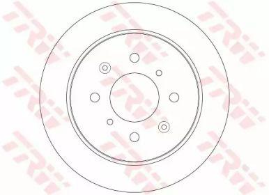 Тормозной диск 'TRW DF6378'.