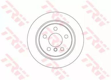 Тормозной диск на MINI COUNTRYMAN 'TRW DF6756'.