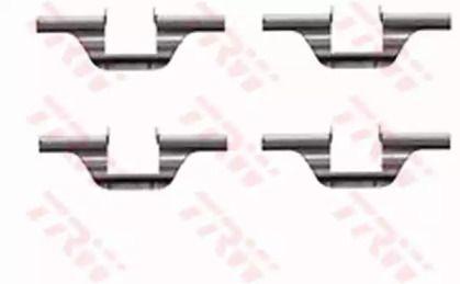 Скобы тормозных колодок на VOLKSWAGEN JETTA 'TRW PFK320'.