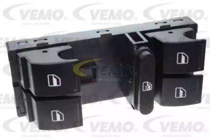 Кнопка стеклоподъемника на SKODA OCTAVIA A5 'VEMO V10-73-0249'.