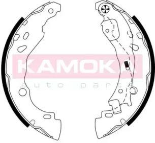 Барабанні гальмівні колодки KAMOKA JQ202050.