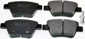 Задние тормозные колодки на Шкода Октавия А5 'DENCKERMANN B111026'.