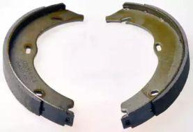 Гальмівні колодки ручника 'DENCKERMANN B120199'.