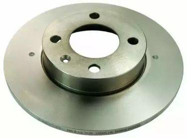 Передний тормозной диск на VOLKSWAGEN PASSAT DENCKERMANN B130001.