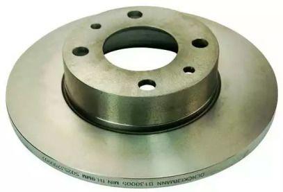 Передний тормозной диск на Сеат Малага 'DENCKERMANN B130005'.