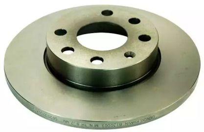 Передний тормозной диск 'DENCKERMANN B130009'.