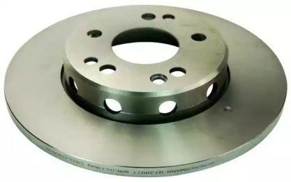 Передний тормозной диск на Мерседес Е класс 'DENCKERMANN B130011'.