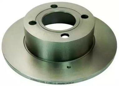 Задний тормозной диск 'DENCKERMANN B130012'.