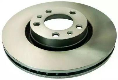 Вентилируемый передний тормозной диск на Пежо 605 'DENCKERMANN B130027'.