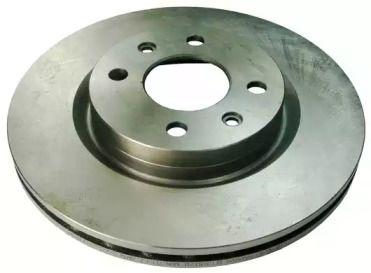Вентилируемый передний тормозной диск на Ниссан Кабистар 'DENCKERMANN B130028'.
