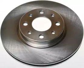 Вентилируемый передний тормозной диск на ALFA ROMEO 155 'DENCKERMANN B130029'.