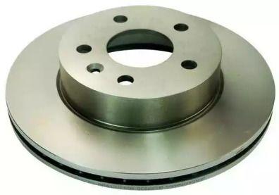 Вентилируемый передний тормозной диск на MERCEDES-BENZ VITO 'DENCKERMANN B130035'.
