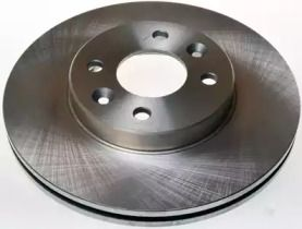 Вентилируемый передний тормозной диск на Рено Сафран 'DENCKERMANN B130038'.