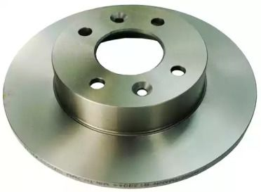 Передний тормозной диск 'DENCKERMANN B130044'.