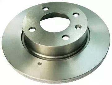 Передний тормозной диск на Шкода Фаворит 'DENCKERMANN B130051'.