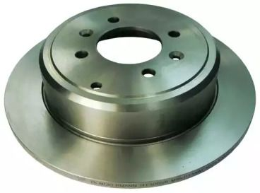 Задний тормозной диск на Пежо 406 'DENCKERMANN B130058'.