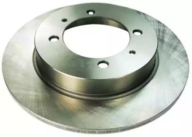 Задний тормозной диск на Вольво С40 'DENCKERMANN B130059'.