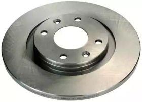 Передний тормозной диск на CITROEN C2 'DENCKERMANN B130060'.