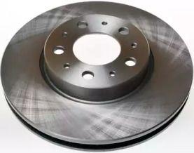 Вентилируемый передний тормозной диск на Вольво 850 'DENCKERMANN B130067'.