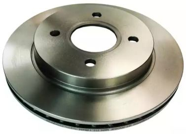 Вентилируемый задний тормозной диск на Форд Кугар DENCKERMANN B130068.