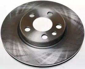 Вентилируемый передний тормозной диск на Пежо Експерт 'DENCKERMANN B130069'.