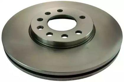 Вентилируемый передний тормозной диск на OPEL CALIBRA 'DENCKERMANN B130075'.