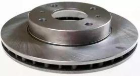 Вентилируемый передний тормозной диск на NISSAN PRAIRIE 'DENCKERMANN B130104'.