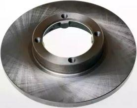 Передний тормозной диск 'DENCKERMANN B130140'.