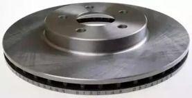 Вентилируемый передний тормозной диск на Ситроен С4 Гранд Пикассо 'DENCKERMANN B130148'.
