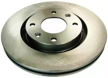 Вентилируемый передний тормозной диск на Пежо 307 'DENCKERMANN B130149'.