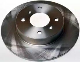 Передний тормозной диск на NISSAN PRIMERA 'DENCKERMANN B130158'.