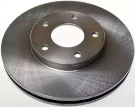 Вентилируемый передний тормозной диск на Ниссан Х-Трейл 'DENCKERMANN B130188'.