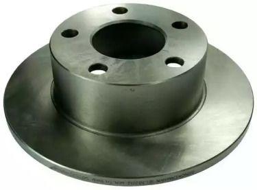 Задний тормозной диск 'DENCKERMANN B130202'.