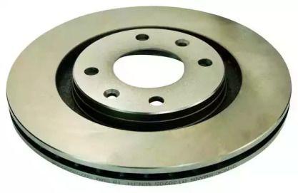 Вентилируемый передний тормозной диск на Ситроен Ксантия 'DENCKERMANN B130205'.