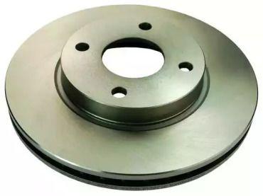 Вентилируемый передний тормозной диск на FORD COUGAR DENCKERMANN B130210.