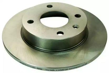 Передний тормозной диск 'DENCKERMANN B130211'.