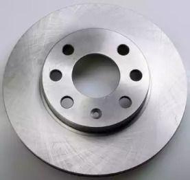 Вентилируемый передний тормозной диск 'DENCKERMANN B130219'.