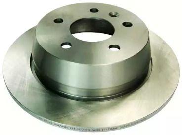 Задний тормозной диск на Мерседес Вито 'DENCKERMANN B130248'.