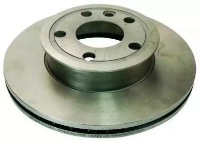 Вентилируемый передний тормозной диск на Фольксваген Траспортер 'DENCKERMANN B130251'.