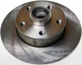 Вентилируемый задний тормозной диск DENCKERMANN B130263 рисунок 0