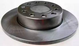 Вентилируемый задний тормозной диск на Рено Рапид 'DENCKERMANN B130267'.